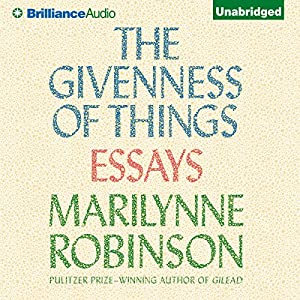 The Givenness of Things Audiobook