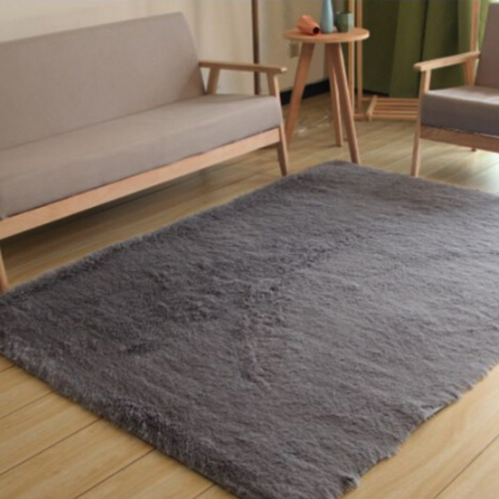 Teppich Wohnzimmer Vlies Modern Schlafzimmer Couchtisch Sofa Zimmer Nachttisch Heimteppich Pastoralen Stil (Farbe : E , Größe : 80  180cm)