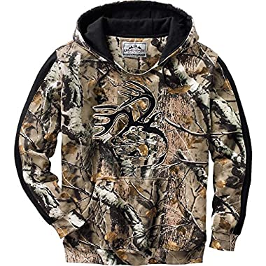 Legendary Whitetails Men's Camo Outfitter Hoodie Big Game Field Camo X-Large