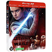 Star Wars:The Last Jedi Steelbook 3D+2D Import Limited Collector's Edition Bluray Steelbook Region free