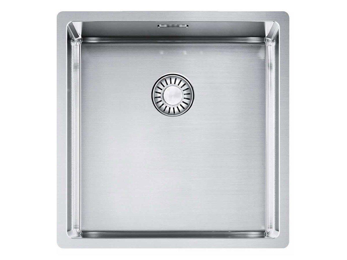 Franke Box BXX 110-40 Edelstahl-Spüle glatt Küchenspüle Unterbauspüle US 50cm