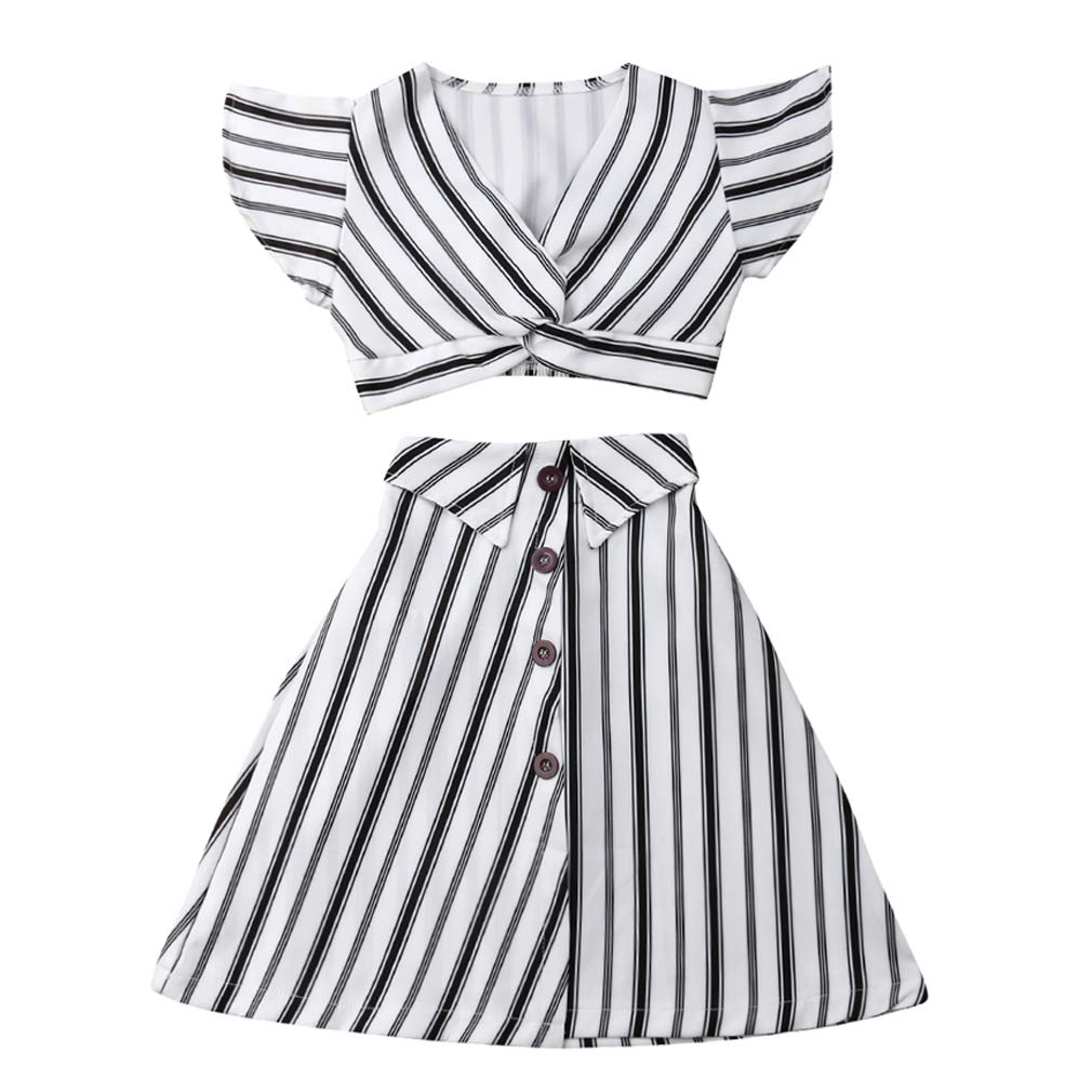 5aad3f560 How To Style A Black And White Striped Maxi Skirt | Saddha