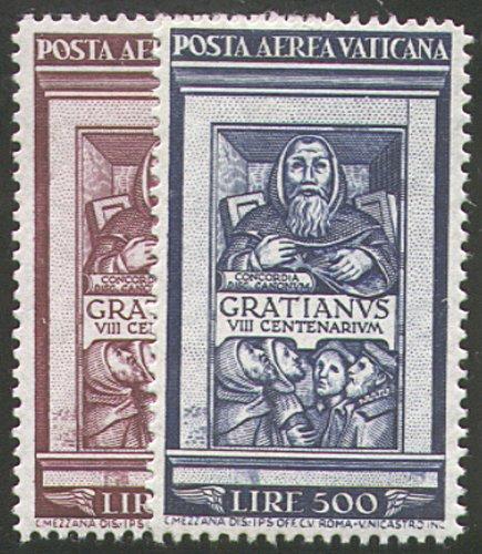 Goldhahn Vatikan Nr. 185-186 postfrisch postfrisch postfrisch