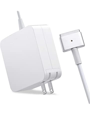 ef6227783c Mac Book Air Charger, AC 45W Magsafe 2 T-Tip Power Adapter Charger  Replacement
