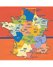 Michelin Map No. 524 Aquitaine (France), including map of Bordeaux - Scale 1cm : 3km (French Edition)