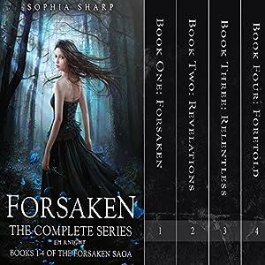 The Forsaken Saga Complete Box Set (Books 1-4) Audiobook