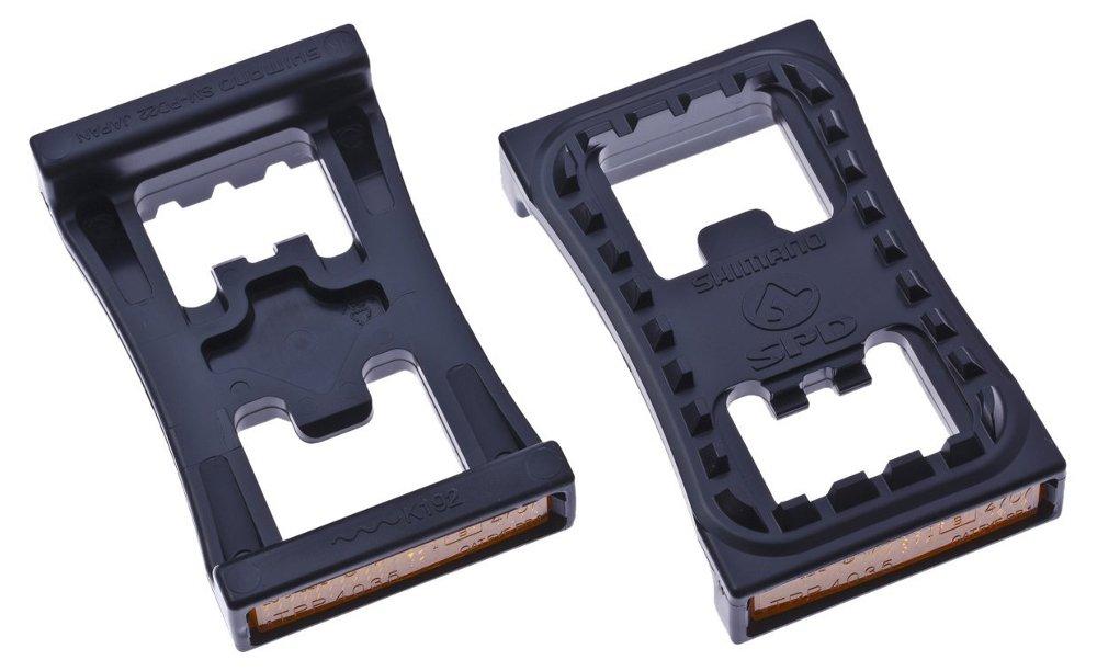 Reflectante/base de pedal, Shimano, PD22, SPD, par product image