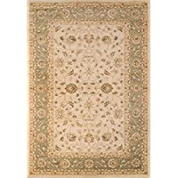 Momeni Rugs ZIEGLZE-04GRN2030 Ziegler Collection, Traditional Area Rug, 2 x 3, Green