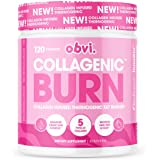 Obvi Fat Burner, Thermogenic, Appetite Suppressant and Weight Loss Support, Collagen, Benefits Hair, Skin, Nails, Joints (30