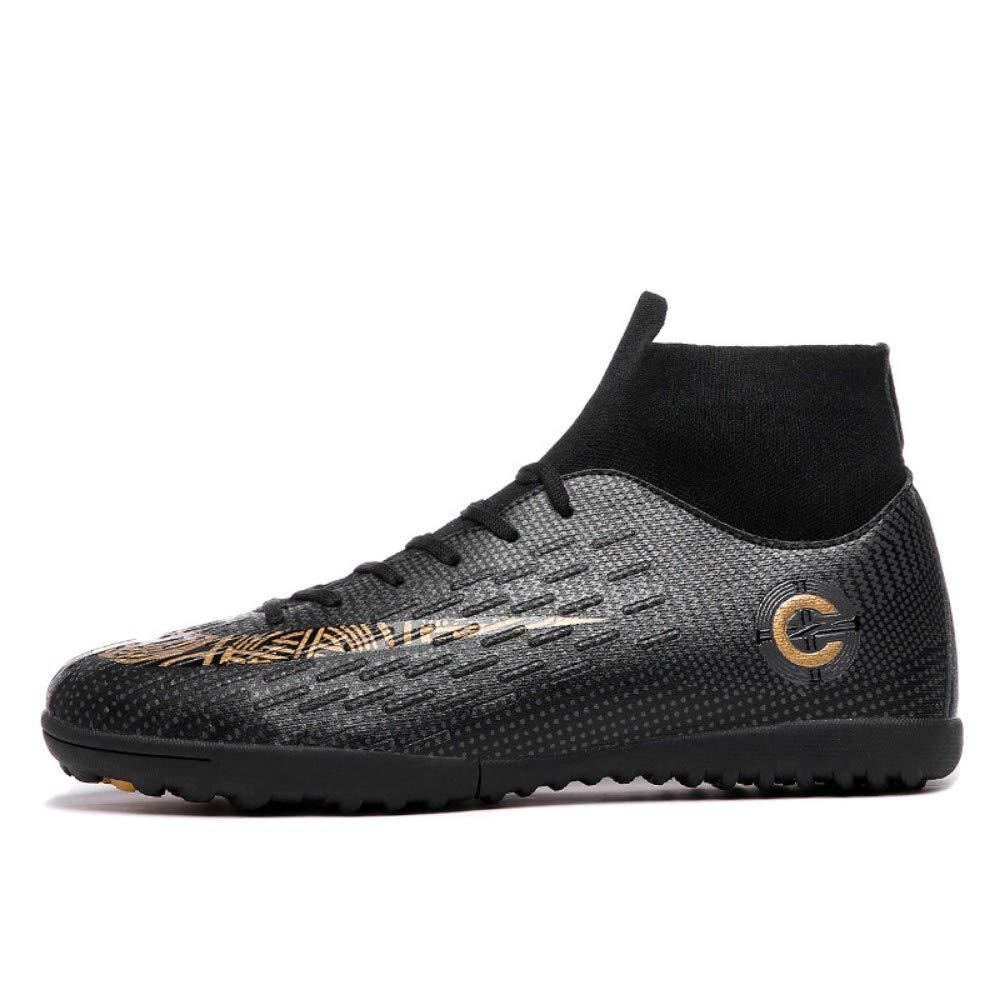 YAYADI Erwachsene Männer Männer Männer Outdoor Fussball Stollen Schuhe High Top Fußballschuhe Ausbildung Sport Turnschuhe Schuhe Plus 67408d