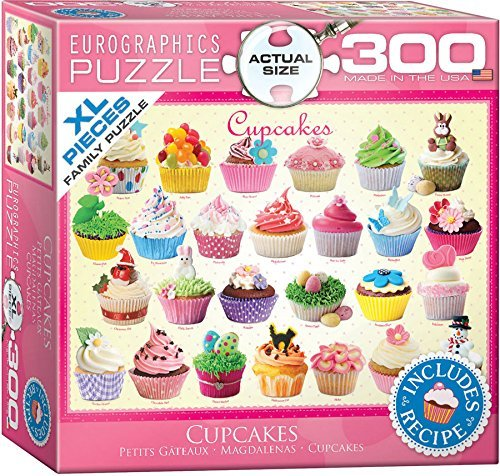 Cupcakes Puzzle, 300-Piece by EuroGraphics
