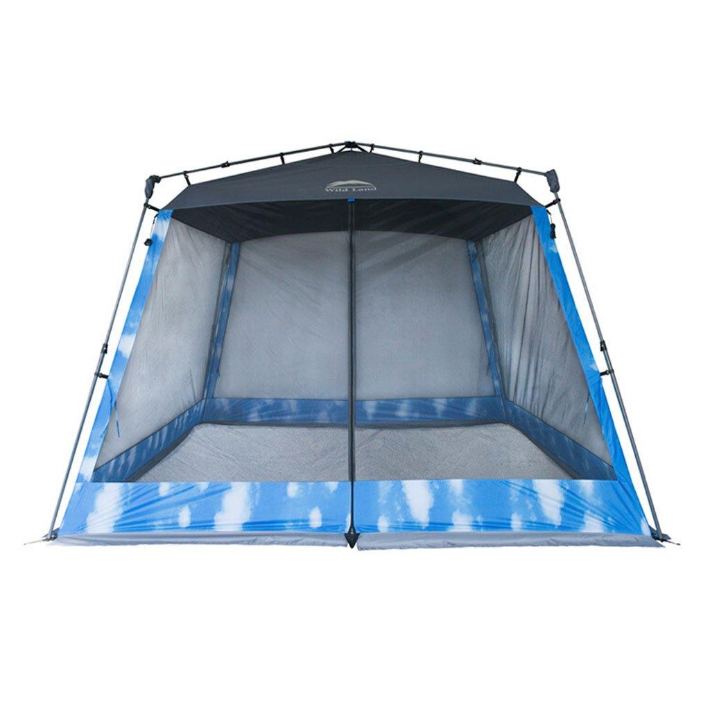 He Ping Yuan Zelt 5-7  Herrenchen schnell offene Zelt Open Field Camping Schatten Zelt @@