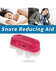 Upgrade Electric 2 in 1 Anti Snoring Device, MOGOI Snoring Solution Nasal Dilator - Snore Stopper Nose Vents Plugs - Snore Reducing for Man and Woman Comfortable Sleep