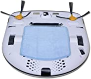 Robô Aspirador Robot Plus Home UP - 3 em 1. Limpa, Aspira e Passa Pano Seco, Carregamento Automático, Sensor Anti-Colisão e Anti-Queda. Bivolt. Ecovacs Robotics