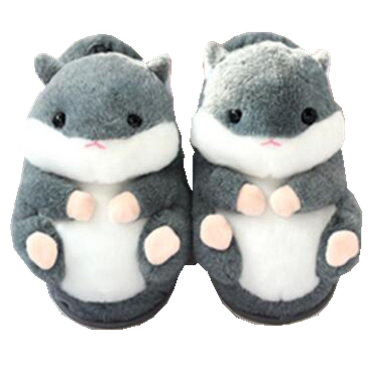 Fat rabbit Carino! Pantofole di Cotone, Antiscivolo Caldo Inverno A A A Casa di Pantofole di Cotone - 1bb554