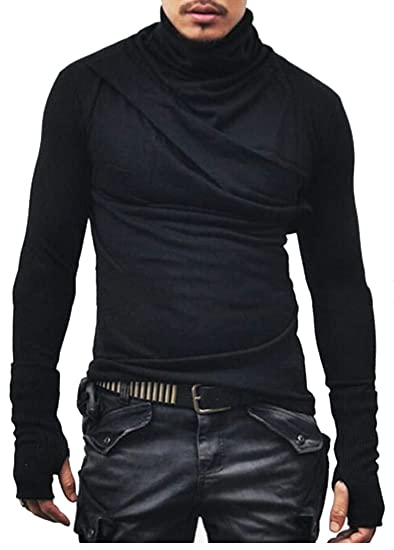 Thermal shirt with thumb hole