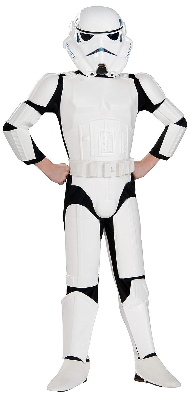 Original Lizenz Star Wars Rebels Stormtrooper Kinderkostüm - Größe S (112-122cm)