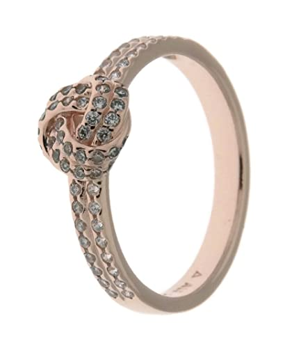 3e7bfe1bb ... new arrivals pandora sparkling love knot ring pandora rose clear cz  180997cz 50 eu 5 87e2a