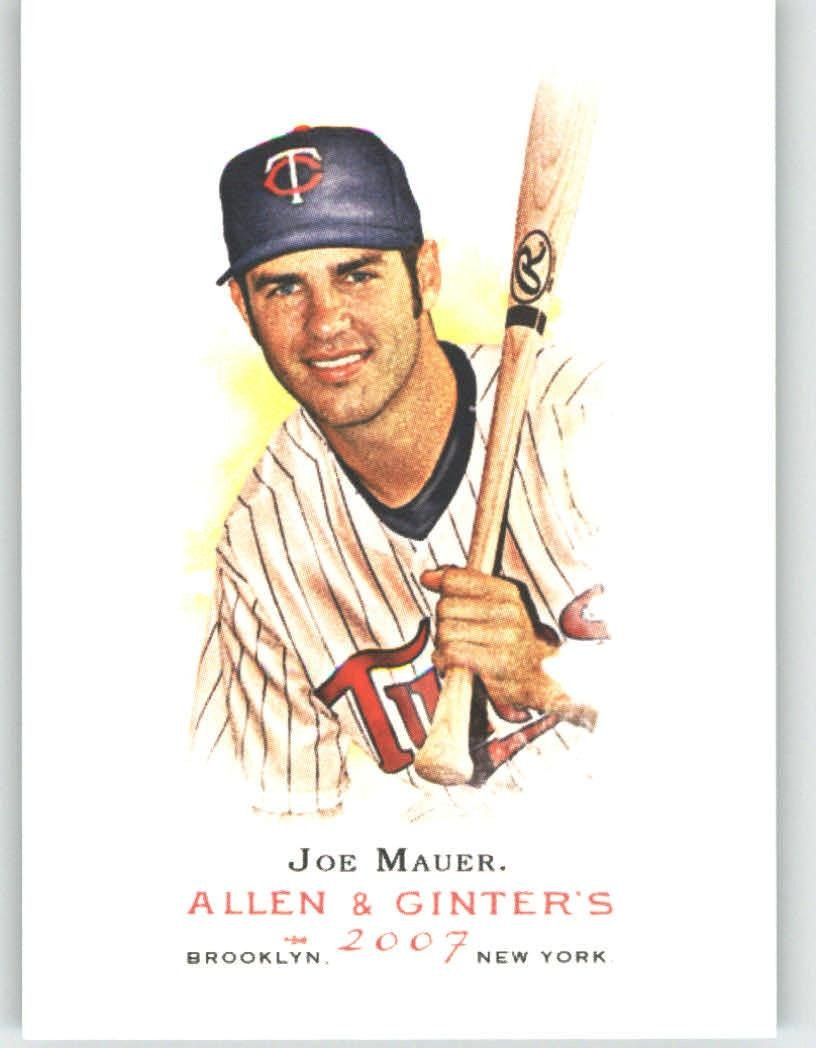 2007 Topps Allen & Ginter # 165 Joe Mauer Minnesota Twins Baseball Card