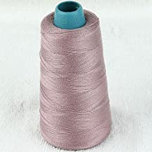 5pc 3000yard/cone Large Cones Cotton Thread Quilting Serger I0066 (Fading Rose)