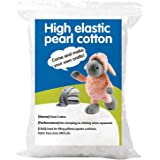 100g Premium Fiber Fill, White Polyester Fiber, Recycled Polyester Fiber, Polyfill Stuffing Pillow Filling Stuffing Cushion F