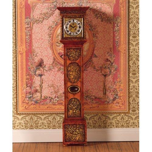 Dolls House orologio a pendolo Nonno orologio (Poliresine) 1 12 Casa delle bambole 4875