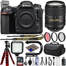 Nikon D500 2160P 4K DSLR Camera w/ GPS & Wi-Fi Ready + Nikon AF-S 18-300mm f/3.5-6.3G ED VR Lens - 64GB SD Card + 25PC Camera Kit