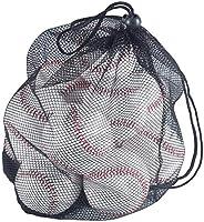 Tebery 12 Pack Standard Size Baseballs, Unmarked & Soft for Bating Prac