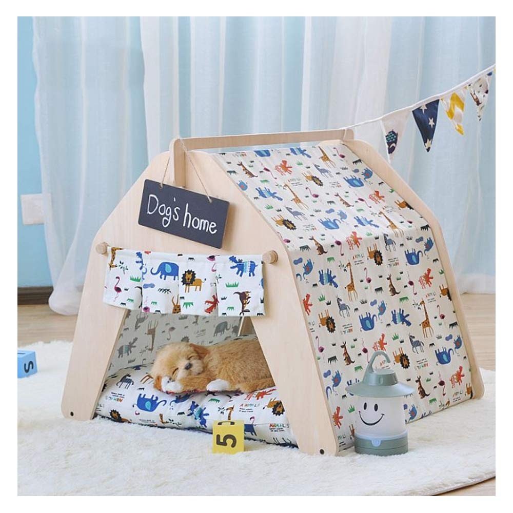 Coolpad Small Coolpad Small GDDYQ Pet Sleeping Tent Cat Dog Indoor Shack Game House Removable Cleaning With Small Blackboard,coolpad,S