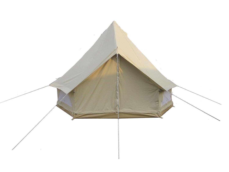 MOUNTAINHILL Familienzelt Pfadfinderzelt Rundzelt Bell Tent - Ø 3 Meter bis Ø 7 Meter B07NPSJ4PM Zelte Reichhaltiges Design