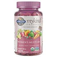 Garden of Life - mykind Organics Women 40+ Gummy Vitamins - Berry - Certified Organic...