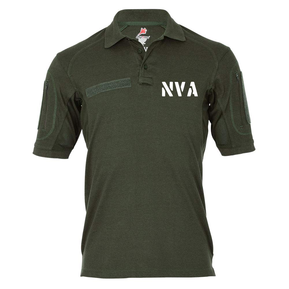 Copytec Tactical Poloshirt Alfa NVA DDR Nationale Volksarmee Streitkraft Militär  19292