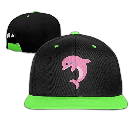 4e41fafab74 ... uk child hip hop baseball caps and hats boys girl pink dolphin 07c9f  88d86