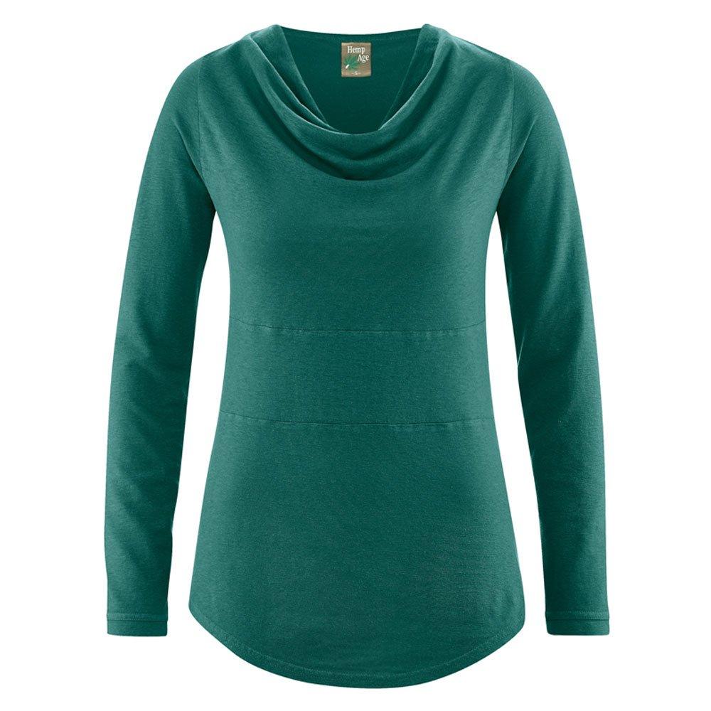 HempAge Damen Langarm-Shirt Rhianna Hanf Bio-Baumwolle B074C8WSBH Langarmshirts Einfach