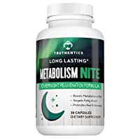 TRUTHENTICS Metabolism Night Time Energy A Healthy Metabolism Support Formula -...