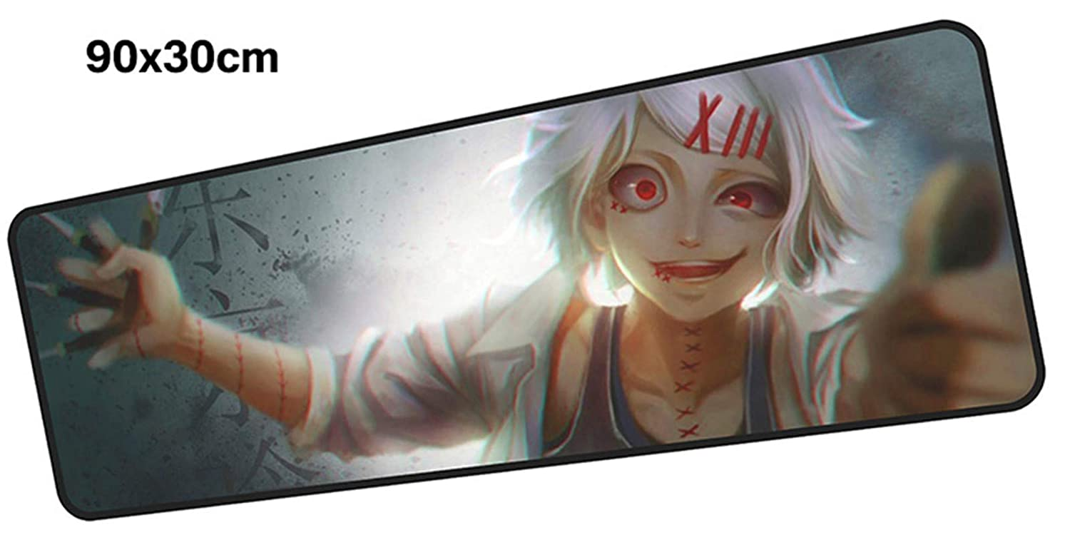 KIJNF Alfombrilla Anime De Ratón Anime Alfombrilla Mouse Pad Gamer 900X300Mm Mouse Mat Gel Grande Gaming Mousepad Hd Patrón Pad Mouse Escritorio De Pc, W d70c3d