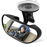 Ideapro Baby Car Backseat Mirror, Rear View Facing Back Seat Mirror Child Safety Rearview Adjustable Forward Baby Mirror for