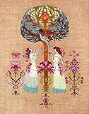 Mirabilia Tree of Hope Cross Stitch Pattern