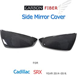 Fits: ATS Jcsportline Replacement Carbon Fiber Car Mirror Covers fits Cadillac ATS Base Sedan 4-Door 2014-2016
