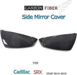 Fits: ATS Jcsportline Replacement Carbon Fiber Car Mirror Covers fits Cadillac ATS Base Sedan 4-Door 2014-2016