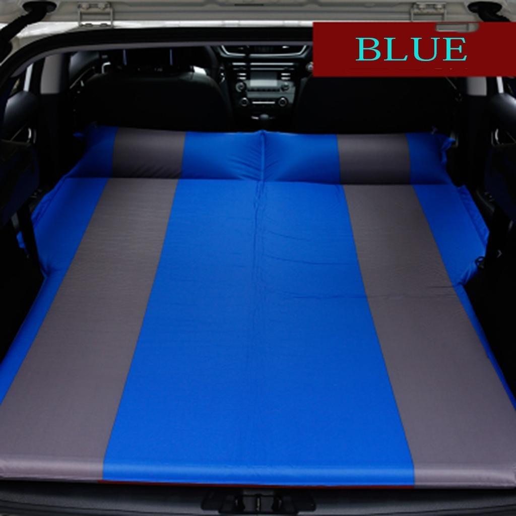 MNII Air Bett für Auto Auto Reise Bett hinten Auto Sleeping Pad Auto automatische aufblasbare Bett für Camping Reisen schlafen 180  132cm- Geeignet für Reisen