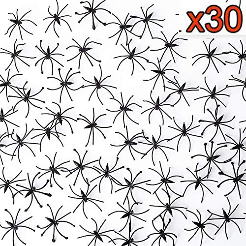 Halloween Decorations Spider Web, Stretch Cobwebs for Halloween Indoor/Outdoor Decoration 400sqft with 30 Fake Spiders