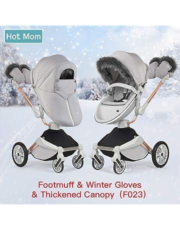 Silla de paseo Hot Mom Reversibilidad rotación multifuncional de 360 grados con asiento y capazo 2018
