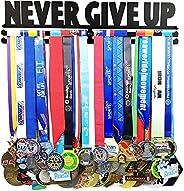 Medal Hanger Awards Holder Display Rack for 60 Medals Use for All Sports Black Steel Medal Hanger Holder,Race