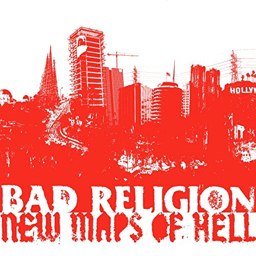 CD : Bad Religion - New Maps Of Hell [Deluxe Edition] [With DVD] [Bonus Tracks] [Digipak] (With DVD, Bonus Tracks, Deluxe Edition, Digipack Packaging, 2 Disc)
