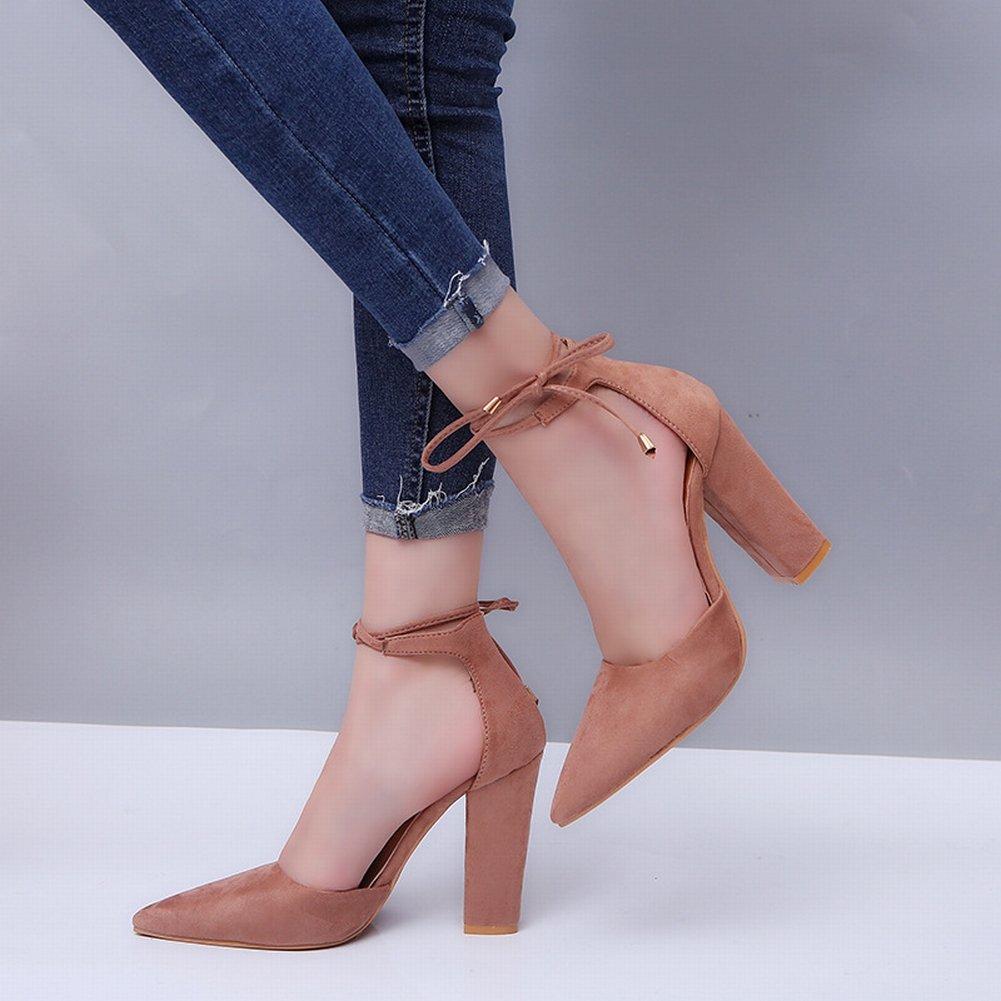 YTTY Mode und Größe Grobe Grobe Grobe Fersen mit Riemen Sandalen Schuhe B07CRB1PZ5 Sport- & Outdoorschuhe Liste der Explosionen d62d8a