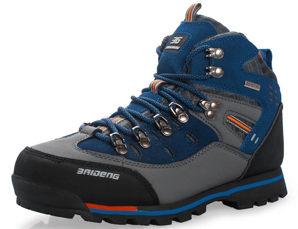 781cf2a54a6 GNEDIAE para Hombre Botas de Senderismo Impermeables de Ocio al Aire Libre  Zapatos de Deporte Zapatillas