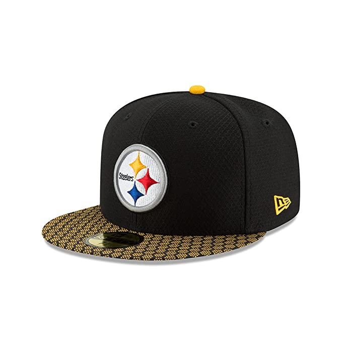 b0ac6816e0d ... new zealand new era 59fifty hat pittsburgh steelers nfl 2017 on field sideline  fitted cap 6