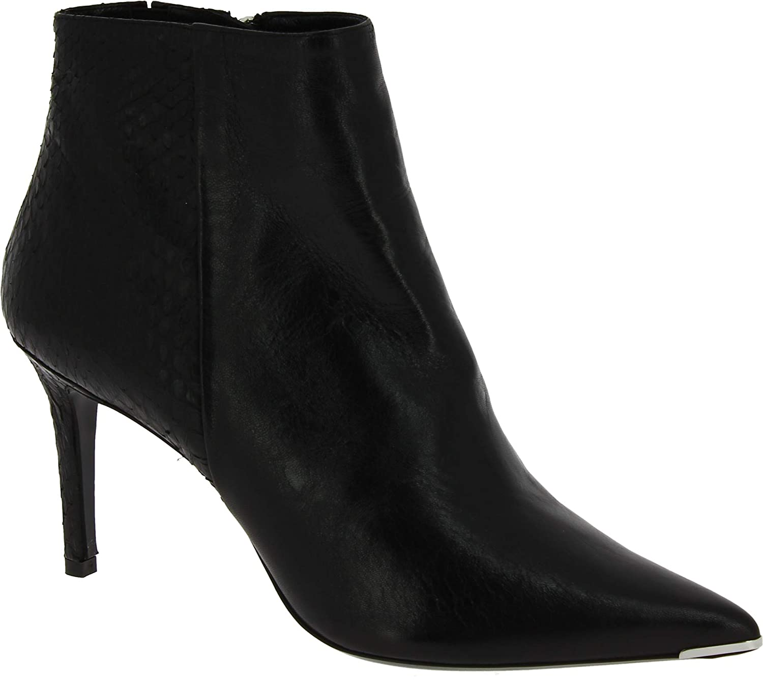 Black Barbara Bui Women's Leather Ankle Boots - Booties shoes