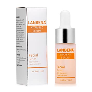 LANBENA Vitamin C Serum Remove Freckle Fade Dark Spot Anti-aging Whiten Moisturize Facial Serum 15ml peter thomas roth de-spot skin brightening corrector 30ml/1oz